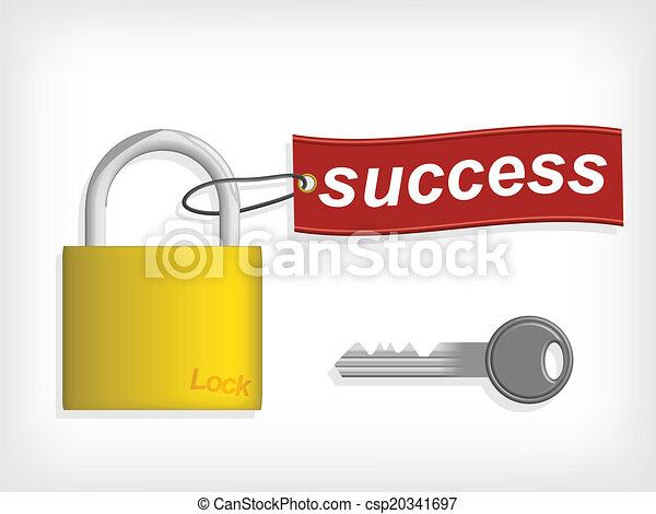 Key to Success. Success concept. - csp20341697