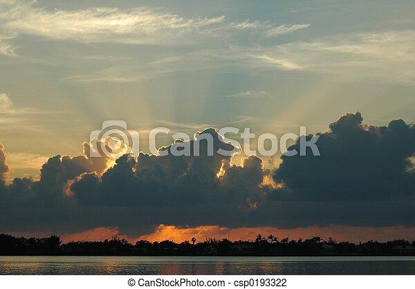 Key West Sunrise - csp0193322