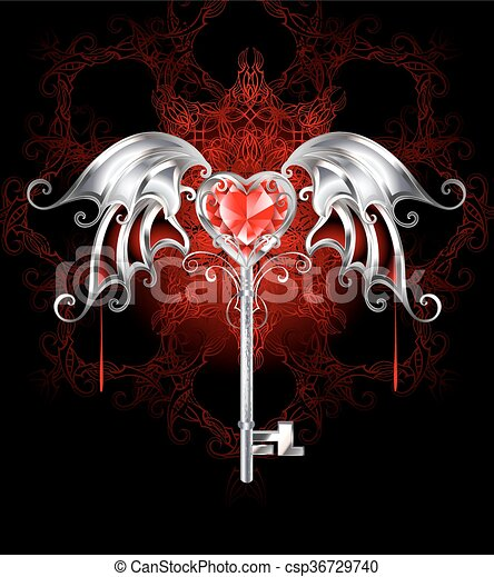 Gothic Heart Drawings