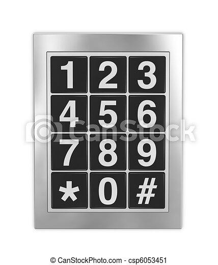 keypad - csp6053451