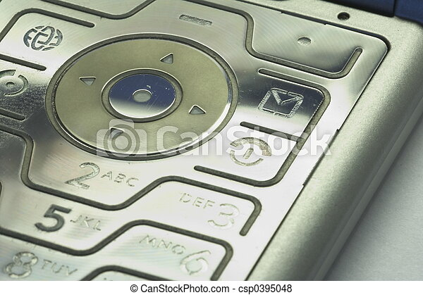 keypad of a mobile phone 01 - csp0395048