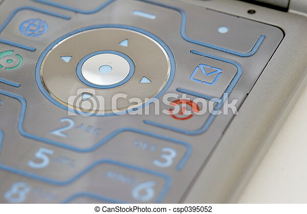 keypad of a mobile phone 02 - csp0395052