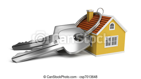 keys and house - csp7013648