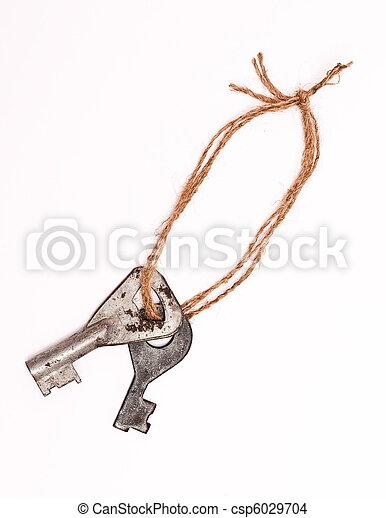 keys on rope - csp6029704