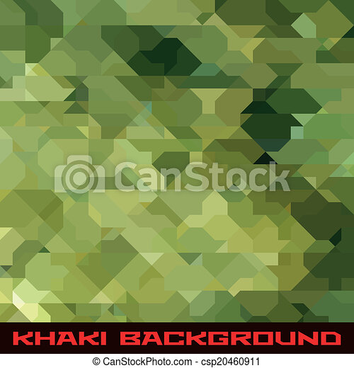 Khaki background with geometric stains - csp20460911