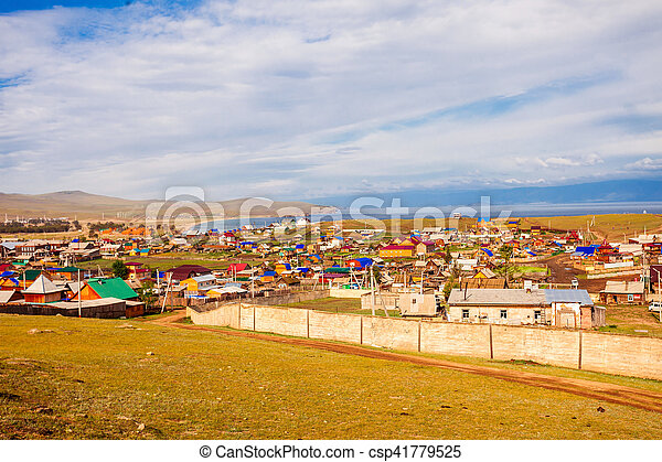 Khuzhir village, Olkhon island - csp41779525