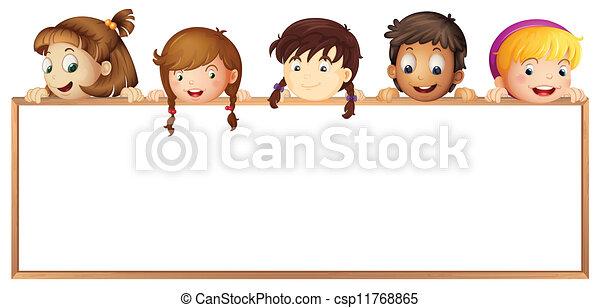 kiállítás, gyerekek, bizottság - csp11768865