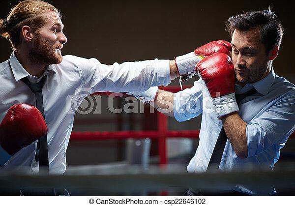 kick-boxers, ügy - csp22646102
