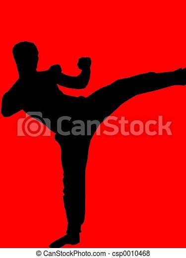 kickboxer - red - csp0010468
