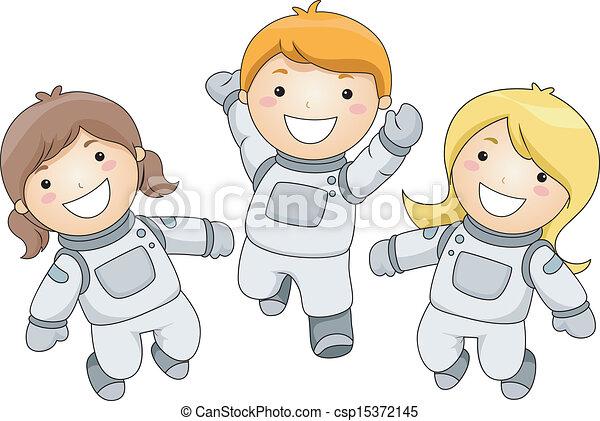 Kid Astronauts - csp15372145