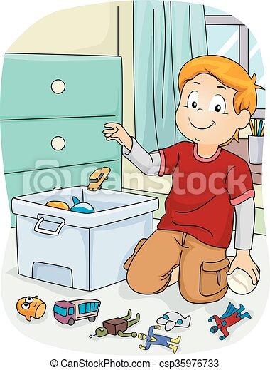 Kid Boy Chores Store Toys