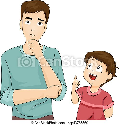 Dad and child clipart | Nice clip art