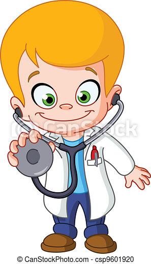 Kid doctor - csp9601920