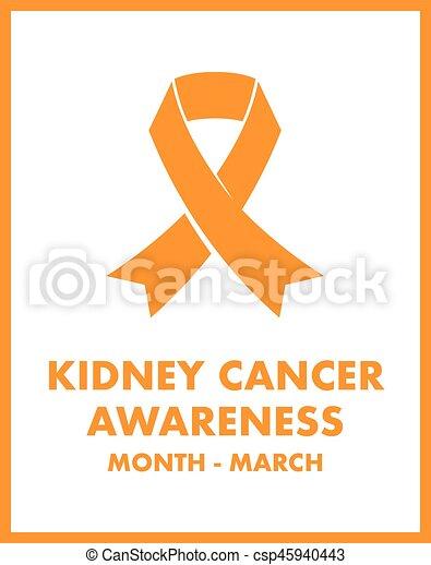 Kidney cancer awareness - csp45940443