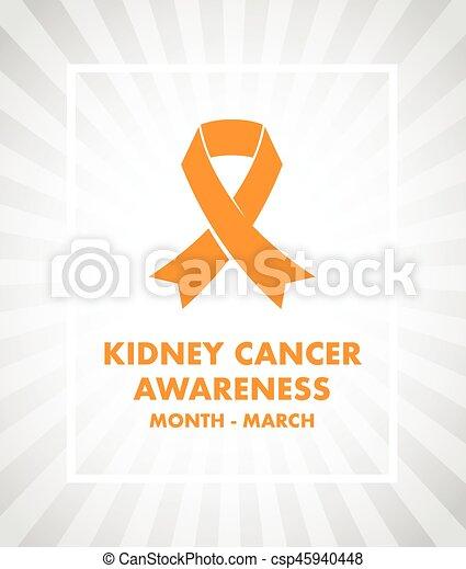 Kidney cancer awareness - csp45940448