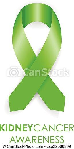 kidney cancer awareness ribbon - csp22588309