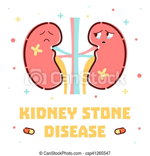 Kidney stone disease poster kidney stone disease awareness poster kidney stone disease poster csp41265547 publicscrutiny Images