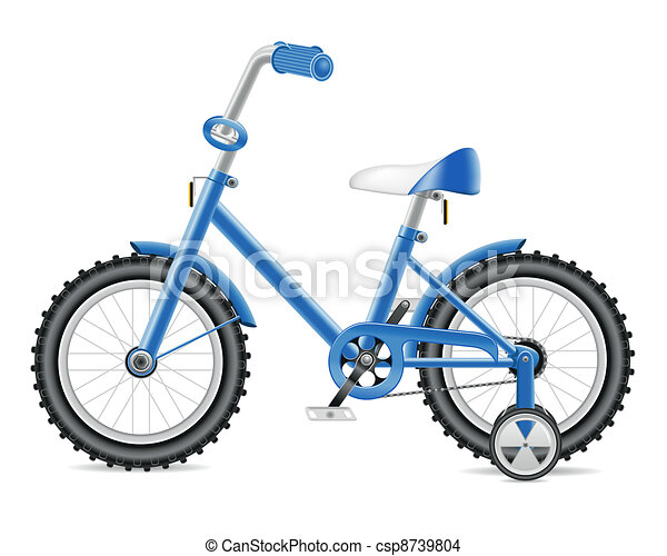 kids bicycle for a boy - csp8739804