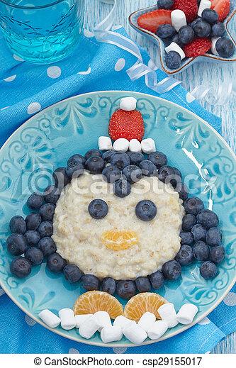 Kids breakfast porridge - csp29155017