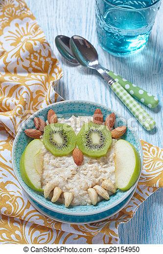 Kids breakfast porridge - csp29154950