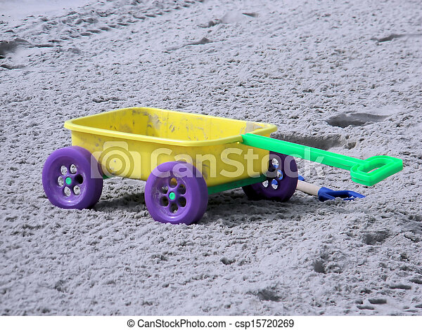 Kids Beach Wagon Toy