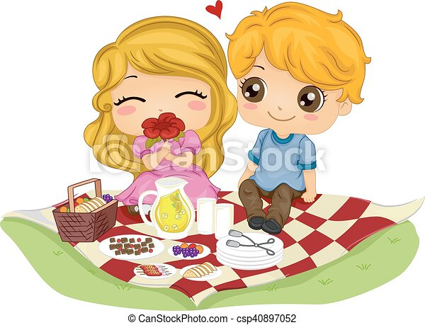 dating couples clip art