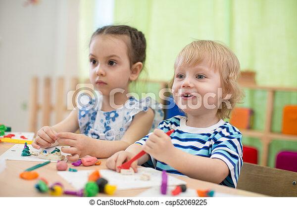 Kids Doing Art