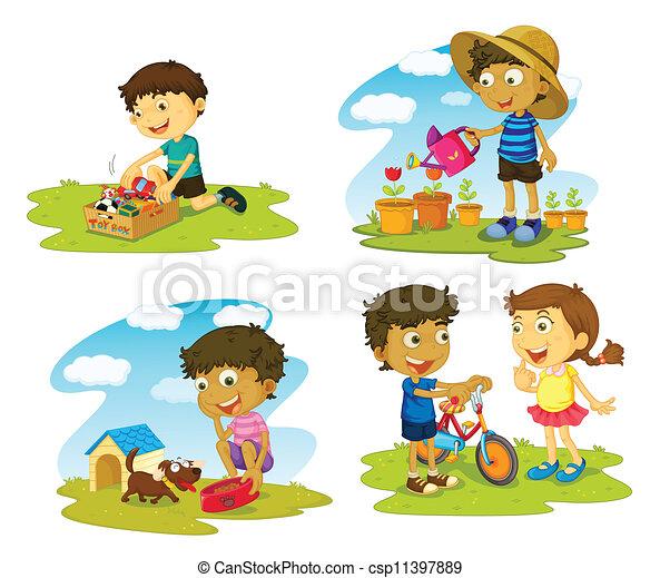 kids - csp11397889