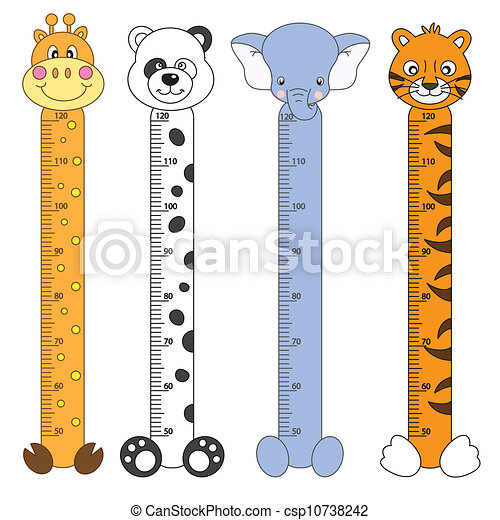 Kids Height Scales - csp10738242