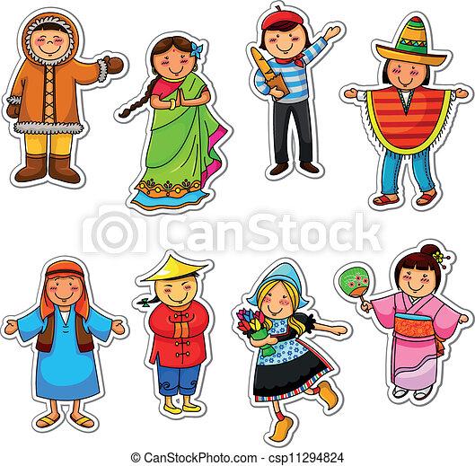 kids of the world - csp11294824