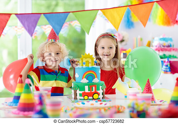 Birthday Cake With Candles For Child