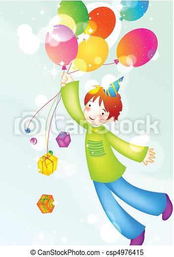 Kids Party - csp4976415