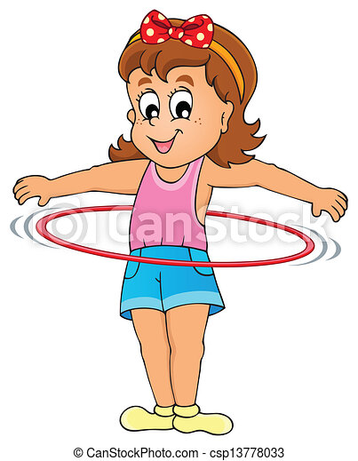 Kids play theme image 3 - csp13778033