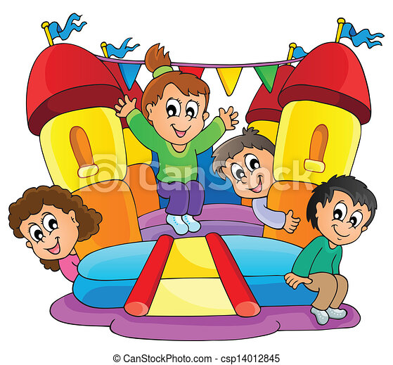 Kids play theme image 9 - csp14012845