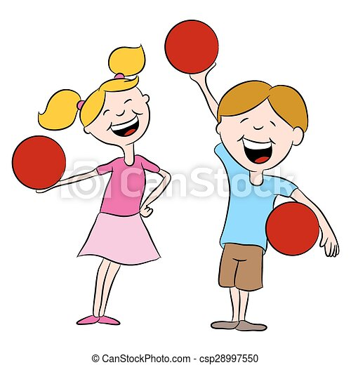 an image of cartoon kids playing dodgeball clipart vector search rh canstockphoto com dodge ball clip art free dodge ball clip art free