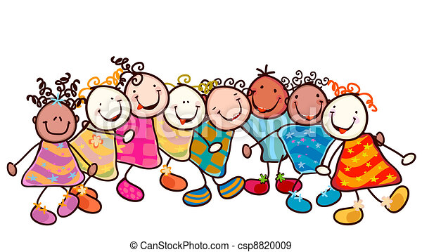 kids playing - csp8820009