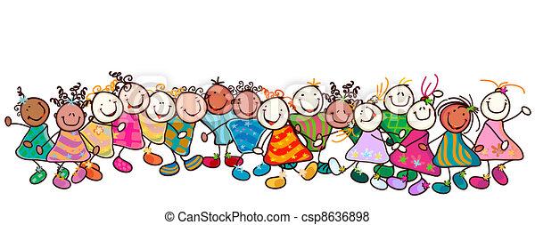 kids playing - csp8636898
