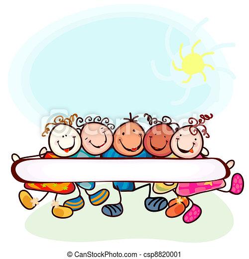 kids playing - csp8820001