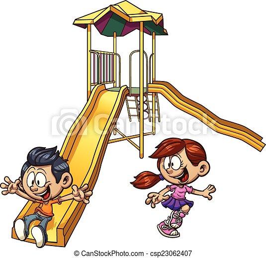Kids playing - csp23062407