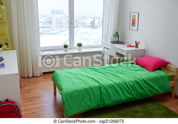 Kids Room Interior With Bed And Accessories Interior Home And Gorgeous Bedroom Furniture Accessories Concept