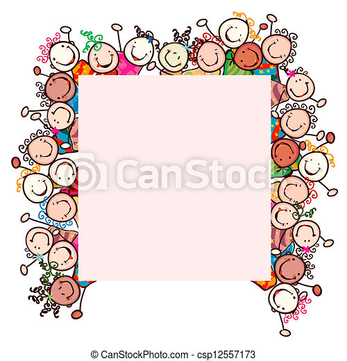 kids smiling - csp12557173