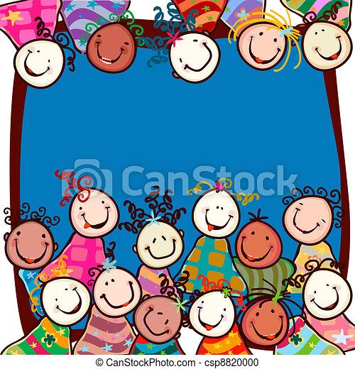 kids smiling - csp8820000