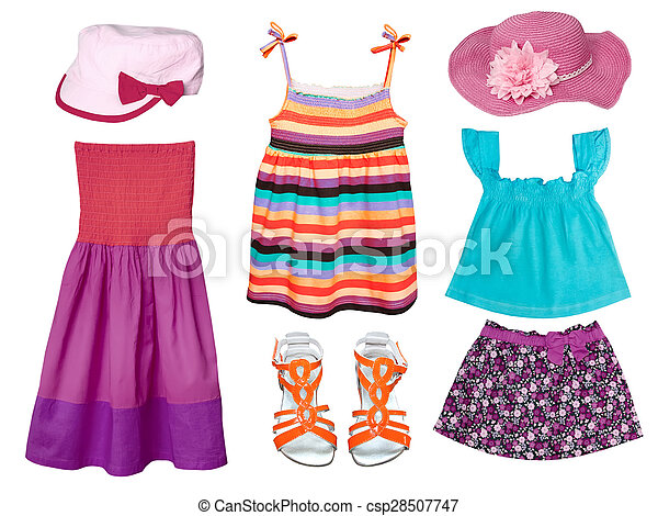 Kid's summer fashion clothes. Kid's summer clothes ...