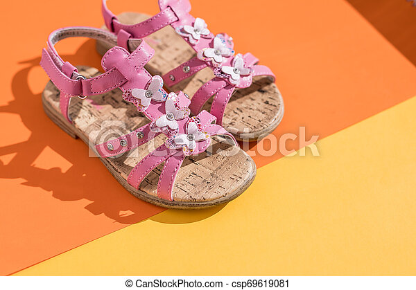 Kids summer sandals. baby shoes, girl