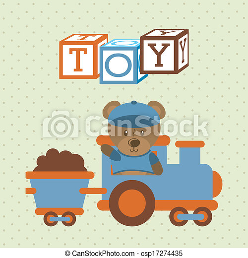 kids toys  - csp17274435