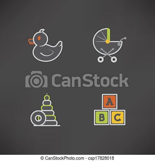 Kids toys - csp17828018