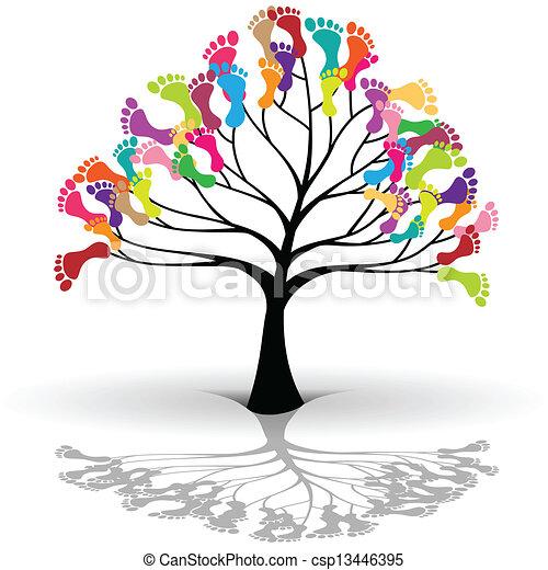 Kids tree - csp13446395