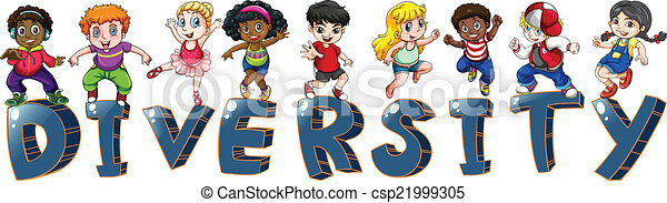 Kids with different nationalities - csp21999305