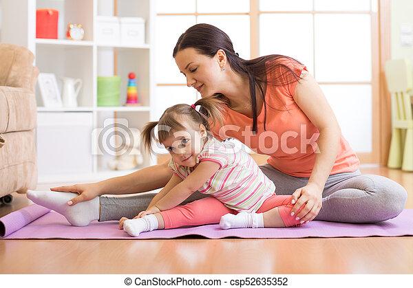 kids yoga female teacher training child girl