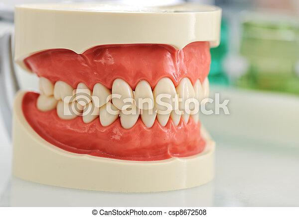 kiefer, dental - csp8672508